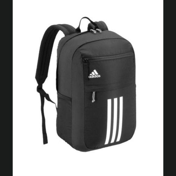 Adidas League 3 Stripe Backpack - black - NWT